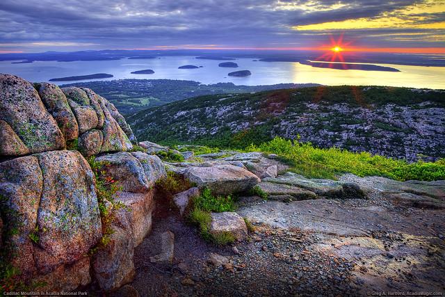 Cadillac Mountain Sunrise, Acadia