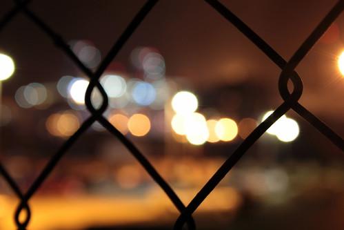 Zaun Lichter