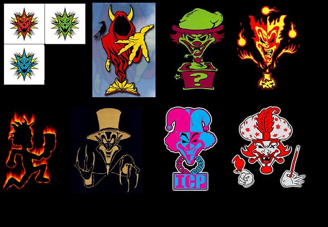 All 6 Joker's Cards ICP http://www.flickr.com/photos/ejnorris/3903384205/
