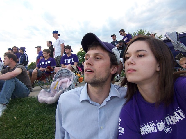 ian's first k-state baseball game