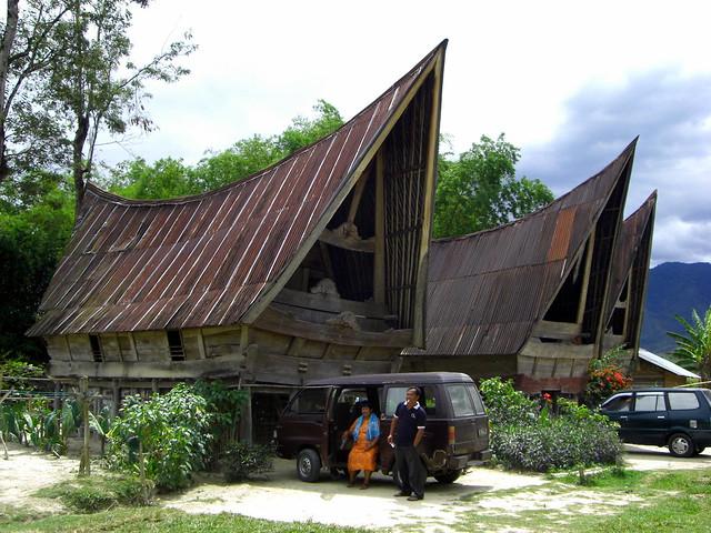Toba Batak Houses