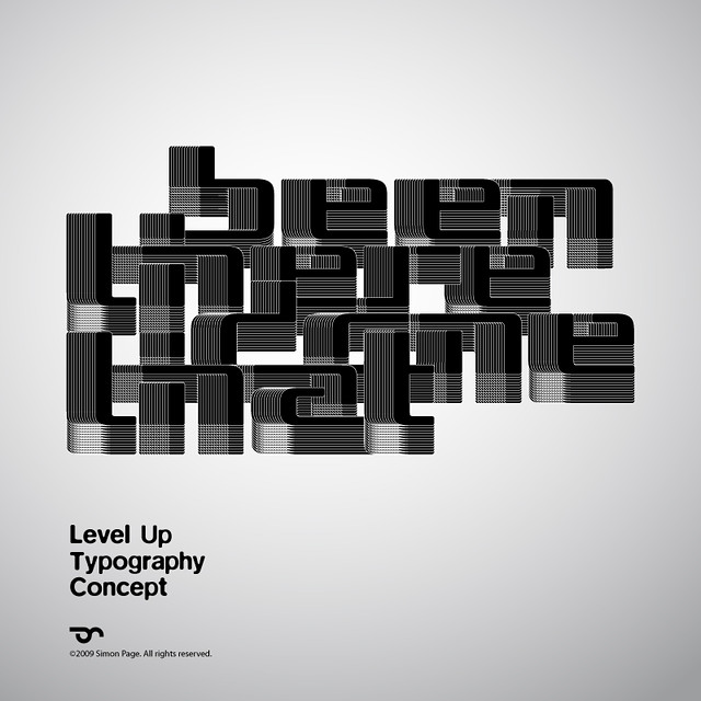 Level Up - Typography Concept
