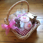 felt food picnic basket