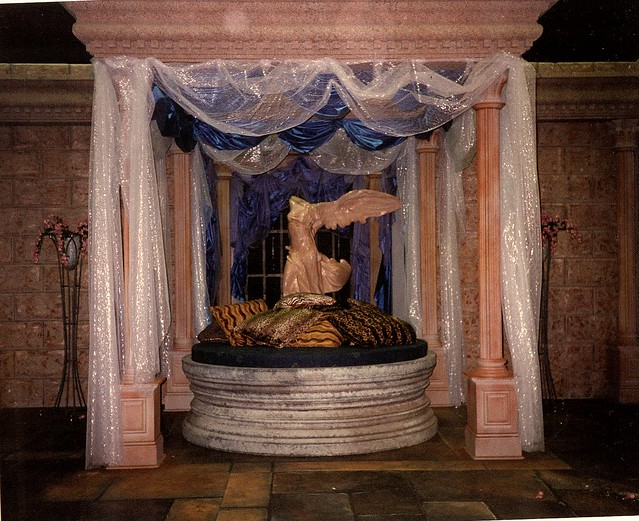 Fantasy Bedroom Set For Atlantis Rick Romer Production