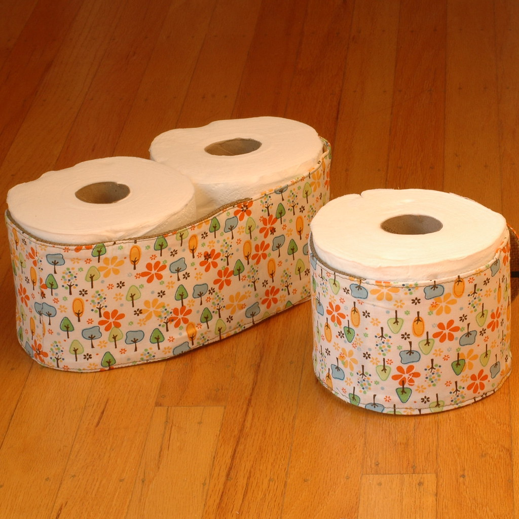 Toilet Paper Cozy A Toilet Paper Roll Holder Cover