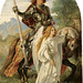 SIR GALAHAD AND THE ANGEL - painting by Joseph Noel Paton