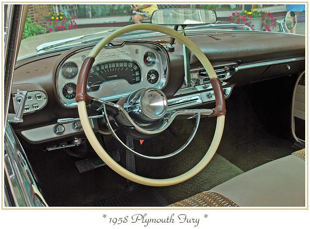 Galerry 1958 plymouth fury interior