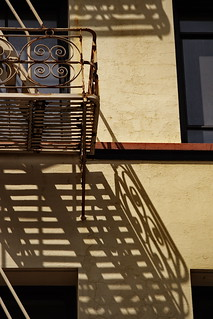 Fire Escape Shadow