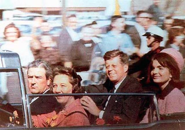 22 Nov 1963 - JFK Motorcade