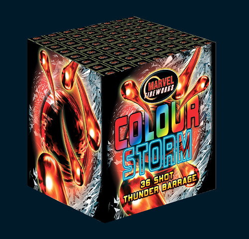 Colour Storm Firework by Marvel Fireworks