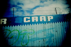 Image of scrap yard sign with