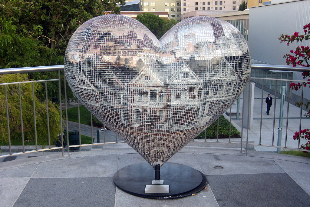 San francisco soma: yerba buena gardens hearts in san u2026 flickr