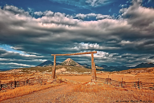 ranch clouds colorado fences naturalframe