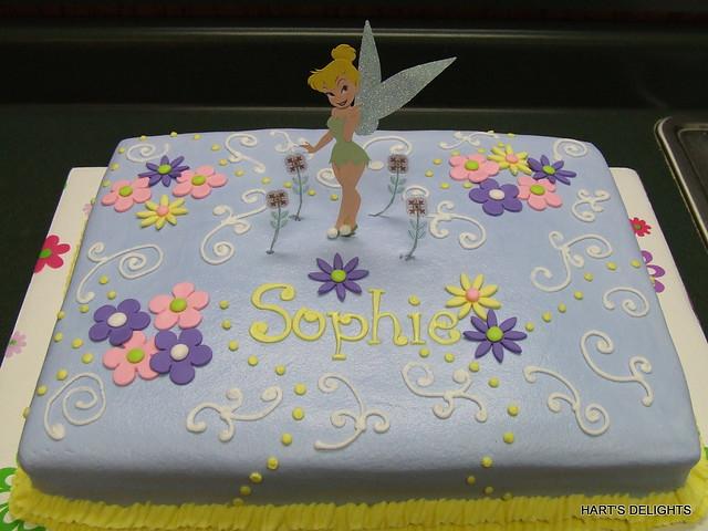 Sophie's Tinker Bell Birthday Cake   Flickr - Photo Sharing!