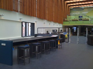 Cafe Papyrus, Main Library entrance Bond University