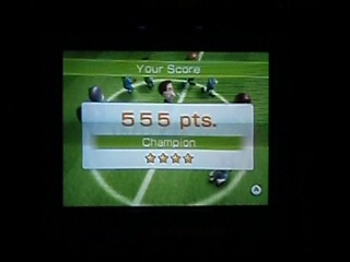 wii fit soccer high score