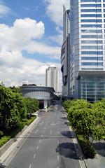 The back of Central World shopping center, Bangkok, Thailand