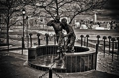 WW2 Memorial  in Hoboken NJ
