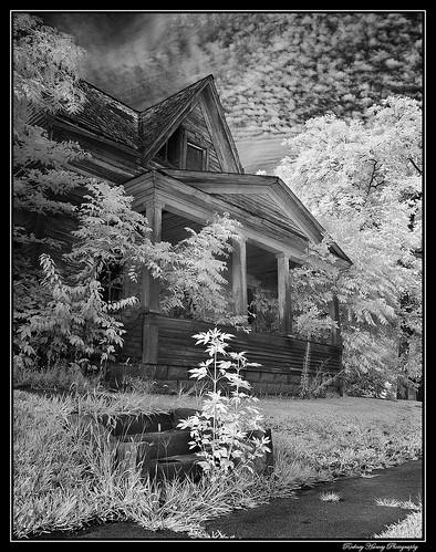 blackandwhite abandoned rural iowa gravity infrared rh