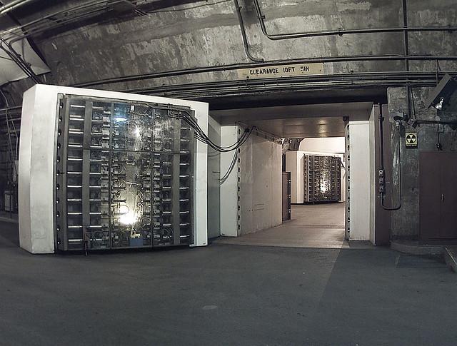 door on Norad vault