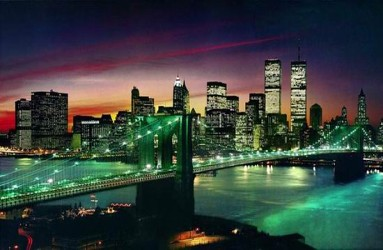 New York Large City Skyline 3d Picture Flickr Photo