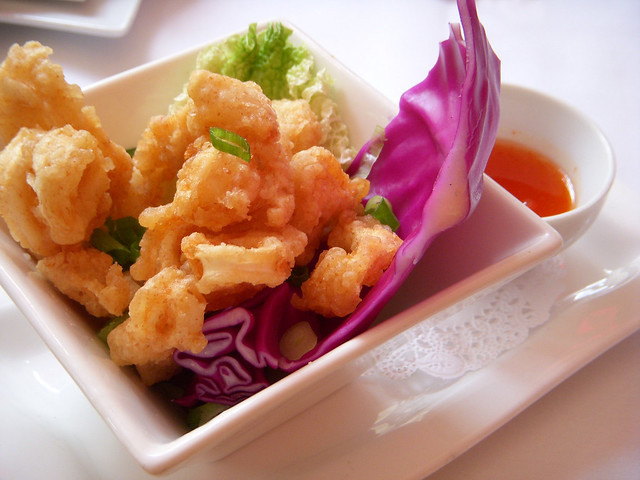 Tempura Calamari with a Thai Chili Dipping Sauce | Flickr - Photo ...
