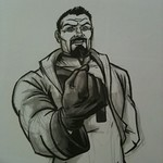 Free Comic Book Day 2011 - Lord Zod Drawn in A Minute