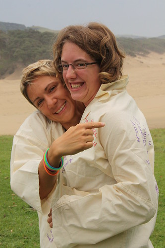 Mareike Fischer und Laura, Eastern Cape, South Africa