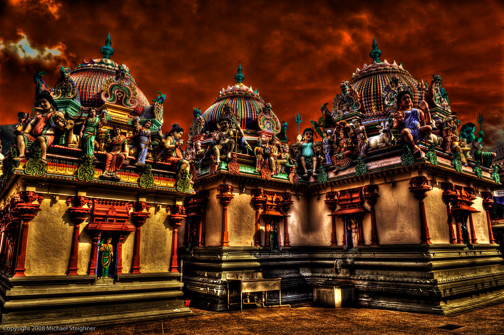 Temple in Chinatown - Singapore by MDSimages.com
