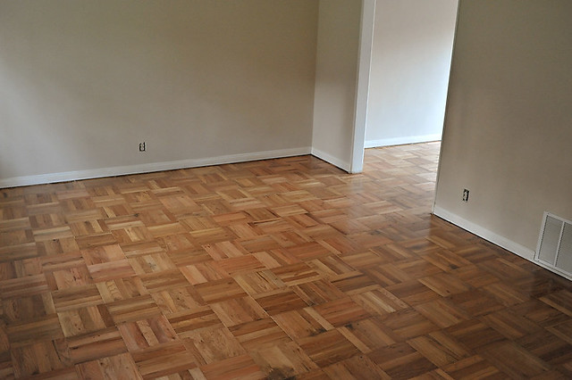 There were beautiful wood floors under the ugly carpet for Wood floor under carpet