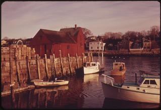 Rockport Harbor 02/1973