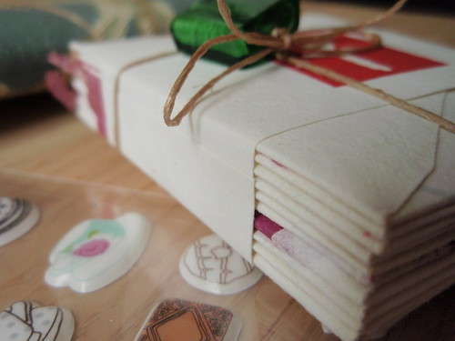 Close up of part of craft swap - for Growing a Better Me