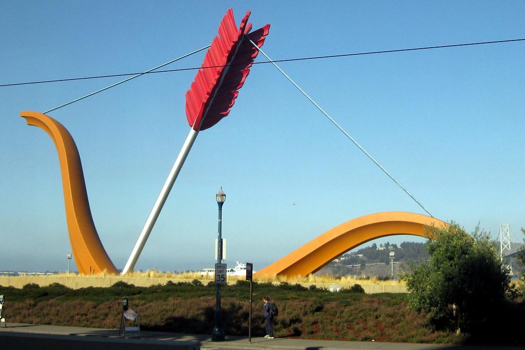 San Francisco Embarcadero Rincon Park Cupid S Span