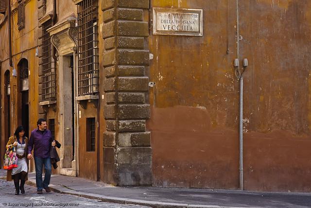Roman Street Corner