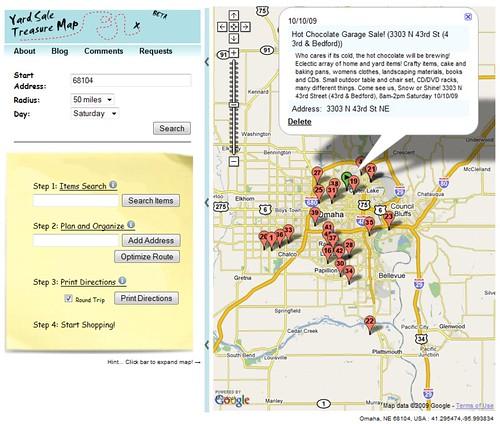 Yard Sale Treasure Map Flickr Photo Sharing