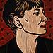 Dorothy Parker by Lisa Brawn
