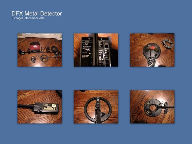 Used Whites Dfx Metal Detector Sale