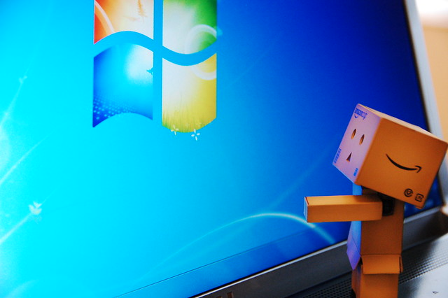 Danbo (heart) Windows 7 - 無料写真検索fotoq