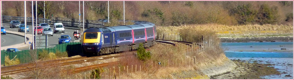 FGW leaving Plymouth