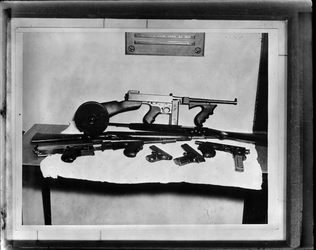 John Dillinger's guns