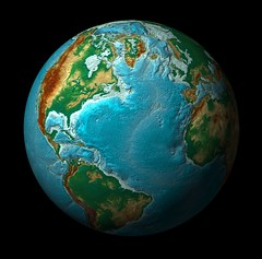 Digital Elevation Model of our Earth