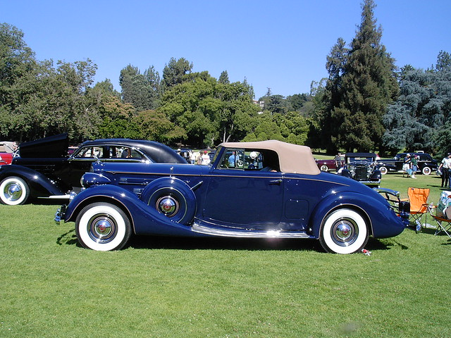 1937 packard 1507 coupe roadster flickr photo sharing for 1937 packard 3 window coupe