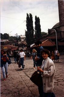 Dana and Gorcin in Sarajevo