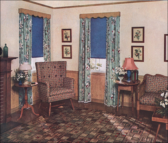 1937 window treatments flickr photo sharing for 1940s window treatments