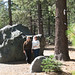 Hot Rock pull-over in Lassen Volcanic National Park by Elaine with Grey Cats