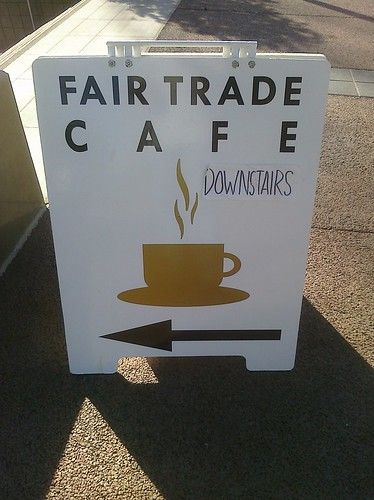 Fair Trade Cafe at Civic Space