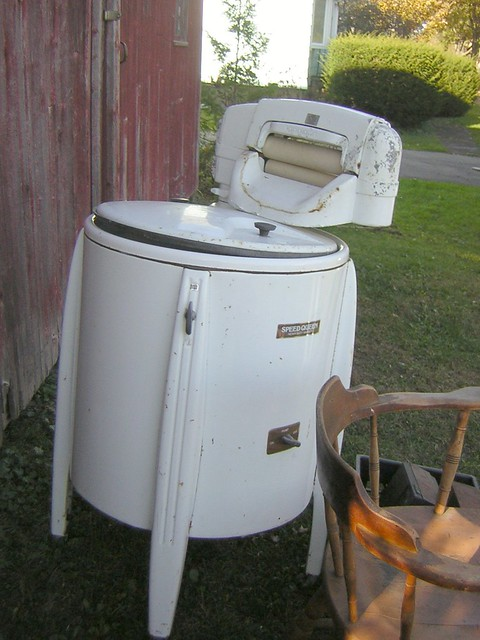 Old Washing Machine ~ Old washing machine for sale van hornesville ny flickr