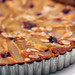 pear tart (with cherries)
