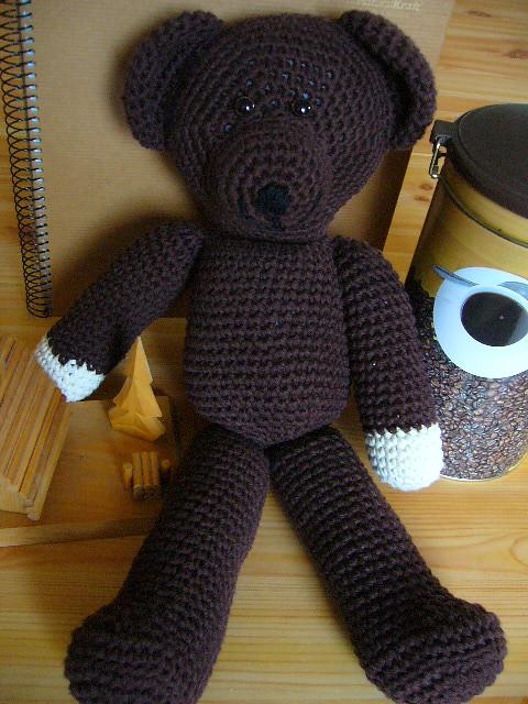 Teddy de Mr. Bean   Own pattern / Patrón propio.   Cinthya   Flickr   500x375