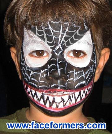 Venom face painting | ...